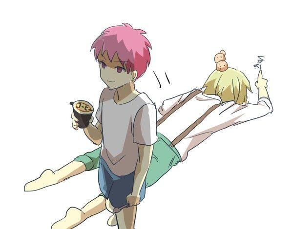 Saiki & Kusuke.