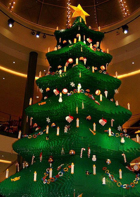 Awesome LEGO Creations - Lego Christmas Tree - Click Pic for 25 #lego #party #ideas