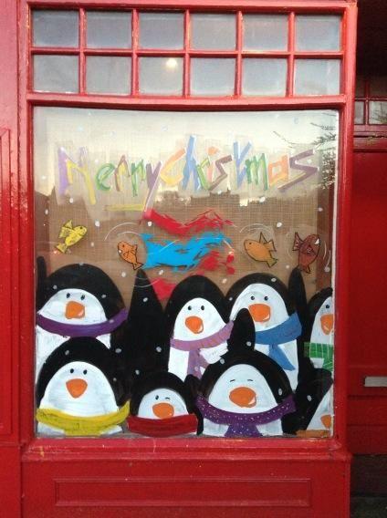 Christmas Penguins via @FontPicker