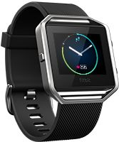 The new 2016 Fitbit Blaze - Get fit in style with a smart fitness watch built with revolutionary features like PurePulse™ heart rate, Connected GPS, on-screen workouts and more.