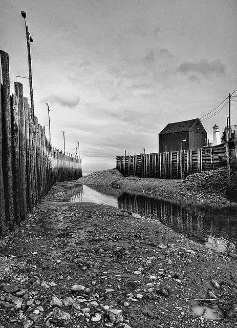 Halls Harbor at Low Tide!