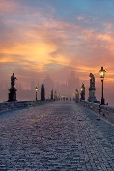 Sunrise, Prague Czech Republic <a class=