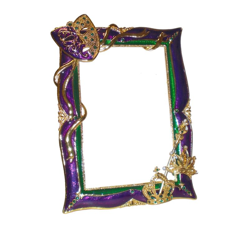 Mardi Gras Frames | mardi gras party supply mask crown mardi gras picture frame