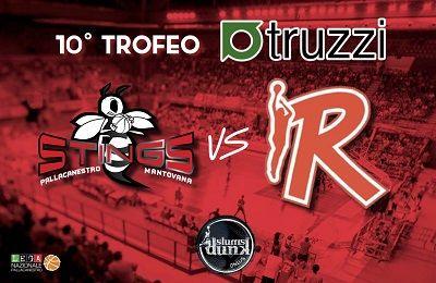 10 Trofeo Truzzi mercoledì 30 marzo a Mantova