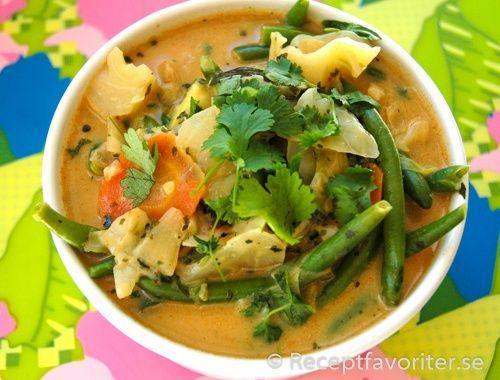 Vegetarisk thaigryta