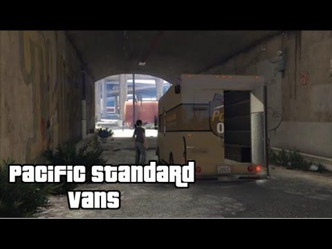 GTA 5 The Pacific Standard Job Setup   Vans