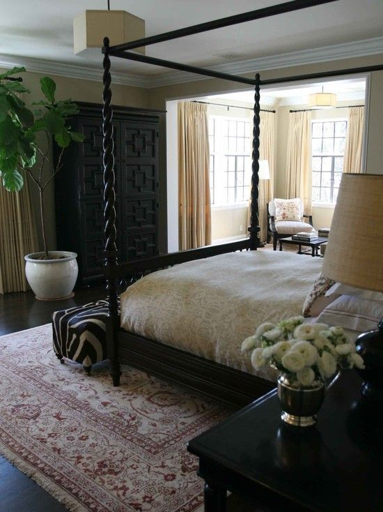 Dark Wood Bedroom Furniture Design, Pictures, Remodel, Decor and
