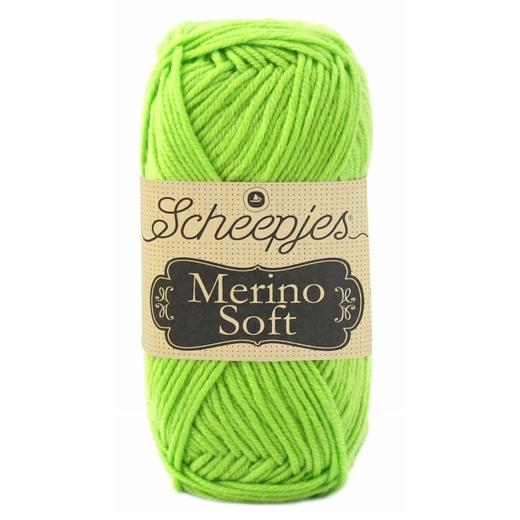 Scheepjes Merino Soft - 646 miro appelgroen - Wol Garen
