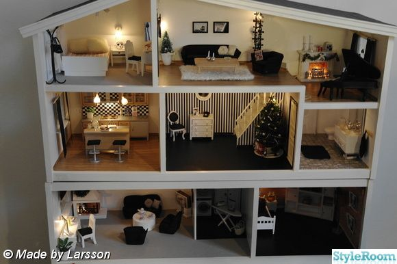 I want to remake my Old Lundby Dollhouse into something cool like this!