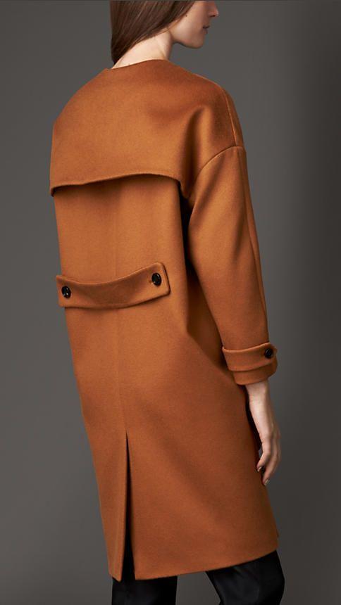 Cashmere Dropped Shoulder Caban | Burberry
