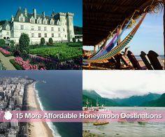 15 MORE AFFORDABLE HONEYMOON DESTINATIONS