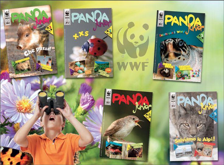 Panda Junior  La rivista del WWF per i Soci Junior Anni 2010-2013