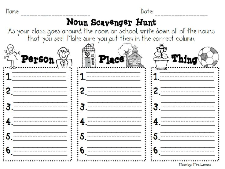 16 best Nouns: Person, Place, or Thing images on Pinterest