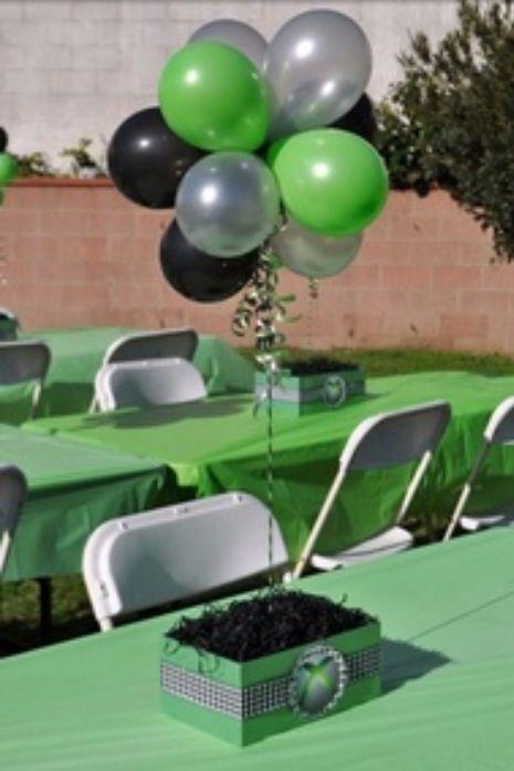XBox Theme Birthday Party Ideas More