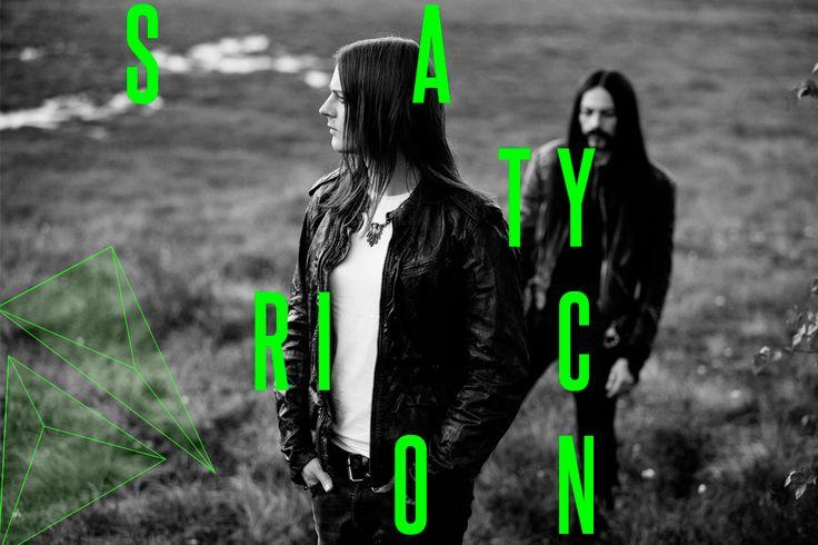 Legendene Satyr og Frost i Satyricon kommer til Slottsfjell. Les mer på www.slottsfjell.no