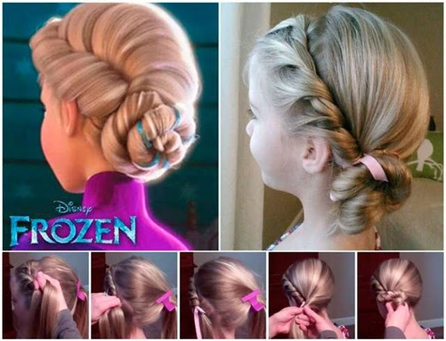 Penteados em crianças que não soltam da cabeça! Reprodução Pinterest