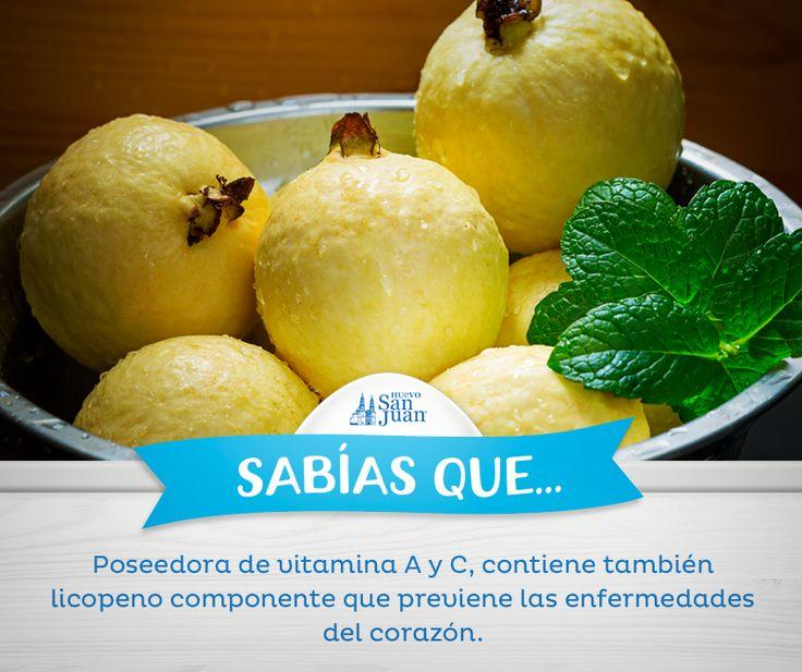#Sabíasque #guayabas #HuevoSanJuan
