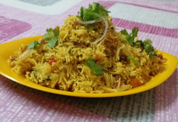 Methi  Rice..