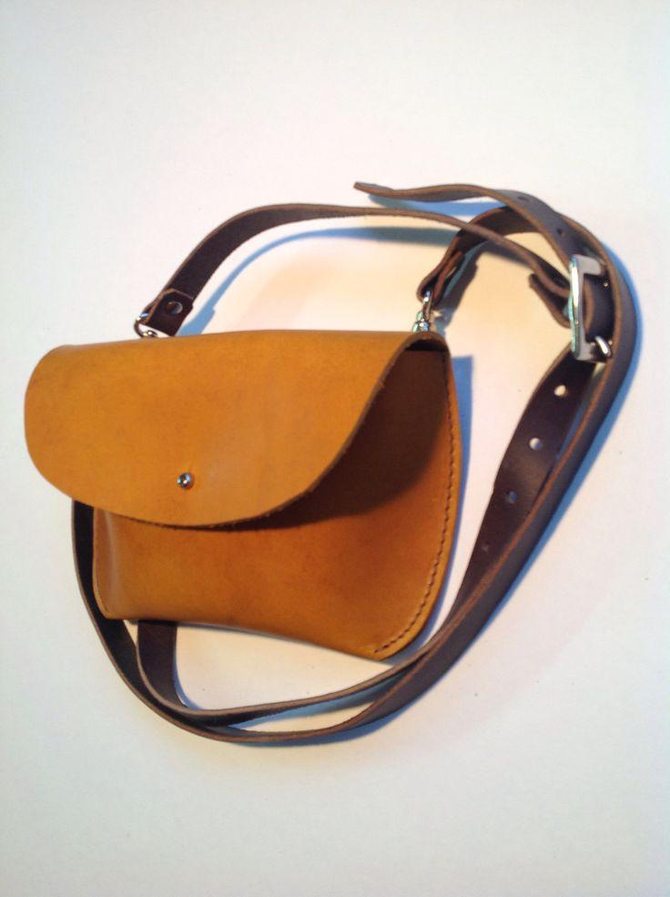 Mini leather Debie bag by wolfram löhr https://www.westdean.org.uk/events/