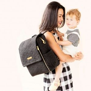A diaper bag backpack to keep hands free to carry other treasures. Petunia Pickle Bottom Diaper Bags