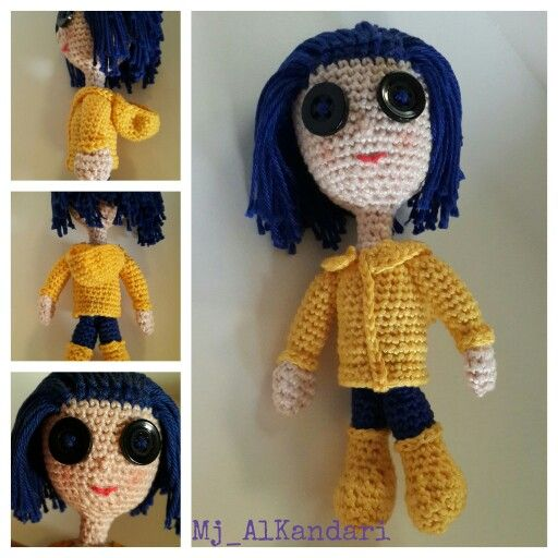 Caroline. Caroline pattern is available in YouTube by Sharon Ojala. She is very kind and helpful. And there are my written pattern and videos on here chanal about different Amigurumi