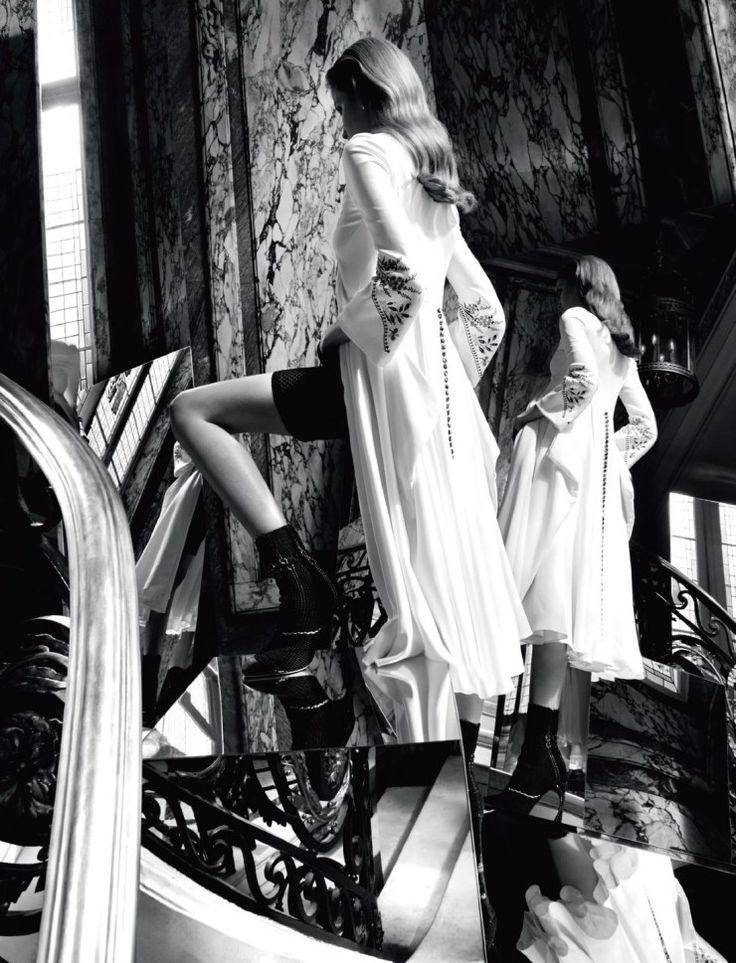 Alisa Ahmann by Camilla Åkrans for Dior Magazine Spring 2015 Christian Dior