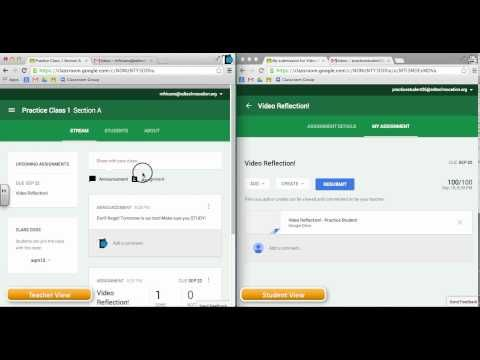 Google Classroom Video Series - Email Notifications - YouTube by EdTechnocation.com