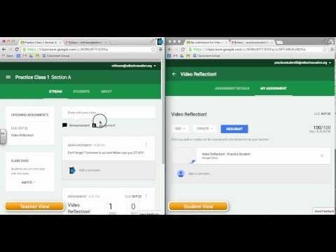 Google Classroom Video Series by EdTechnocation.com - YouTube