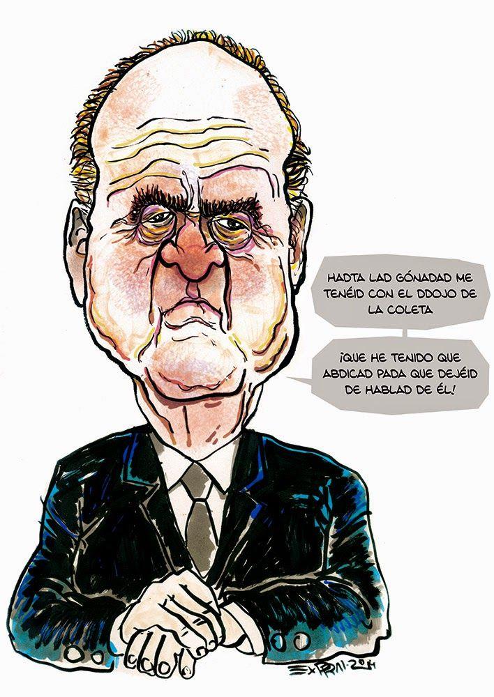 Juan Carlos abdica | Exprai - Marrazkilaria · Dibujante · Illustrator