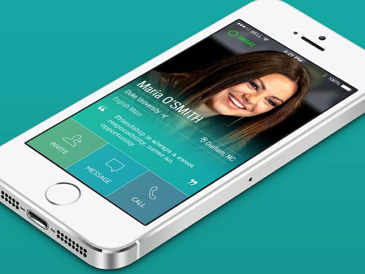 Profile Student App - by Yasser Achachi | #ui