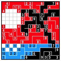 Color Link-a-Pix - step 6 (B)