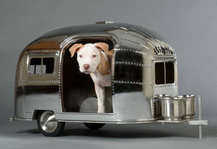 Airstream Dog House <3 - Tap the pin for the most adorable pawtastic fur baby apparel! You'll love the dog clothes and cat clothes! <3