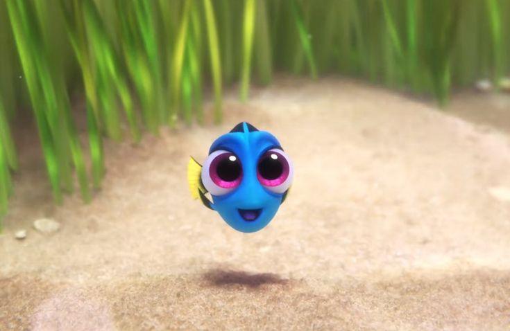 """Que lindinha! Dory aparece ainda bebê em nova cena de """"Procurando Dory""""!"""