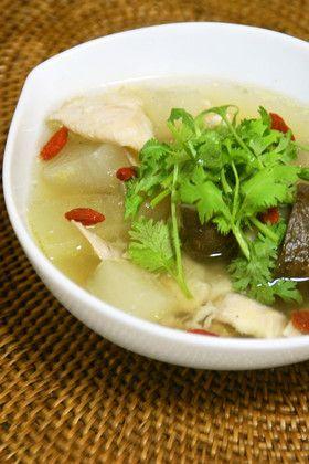冬瓜と鶏のスープ(活力鍋使用) by うさぎのシーマ [クックパッド ...