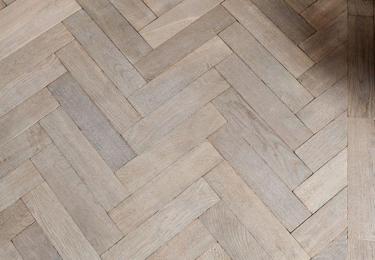 Grey Euro Oak Herringbone - PreFinished