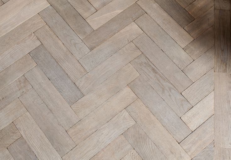 Grey Euro Oak Herringbone - PreFinished