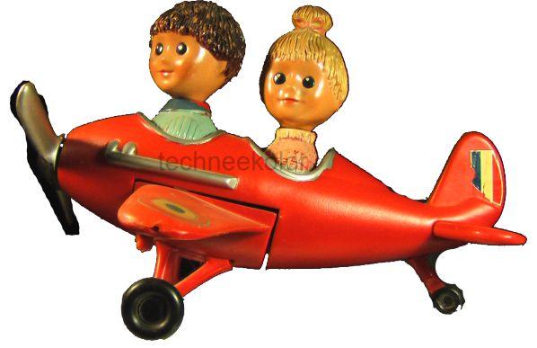 L'avion de Nicolas et Pimprenelle