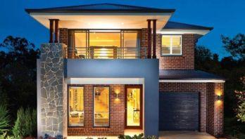 desain rumah minimalis 2 lantai type 36/72 terbaru di 2020