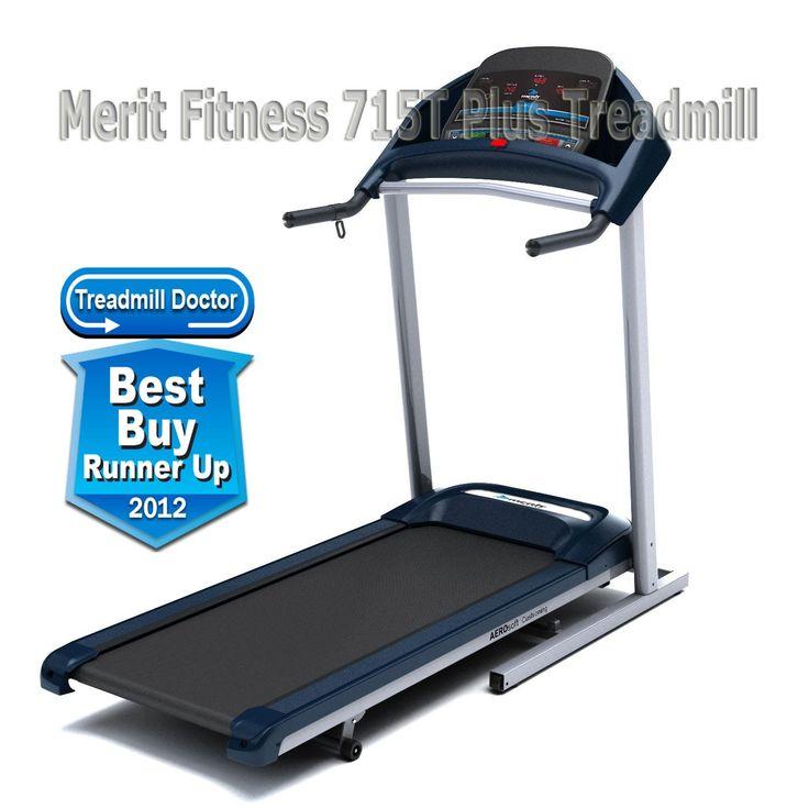 Merit Fitness 715T Plus Treadmill - Best Treadmill for Home...