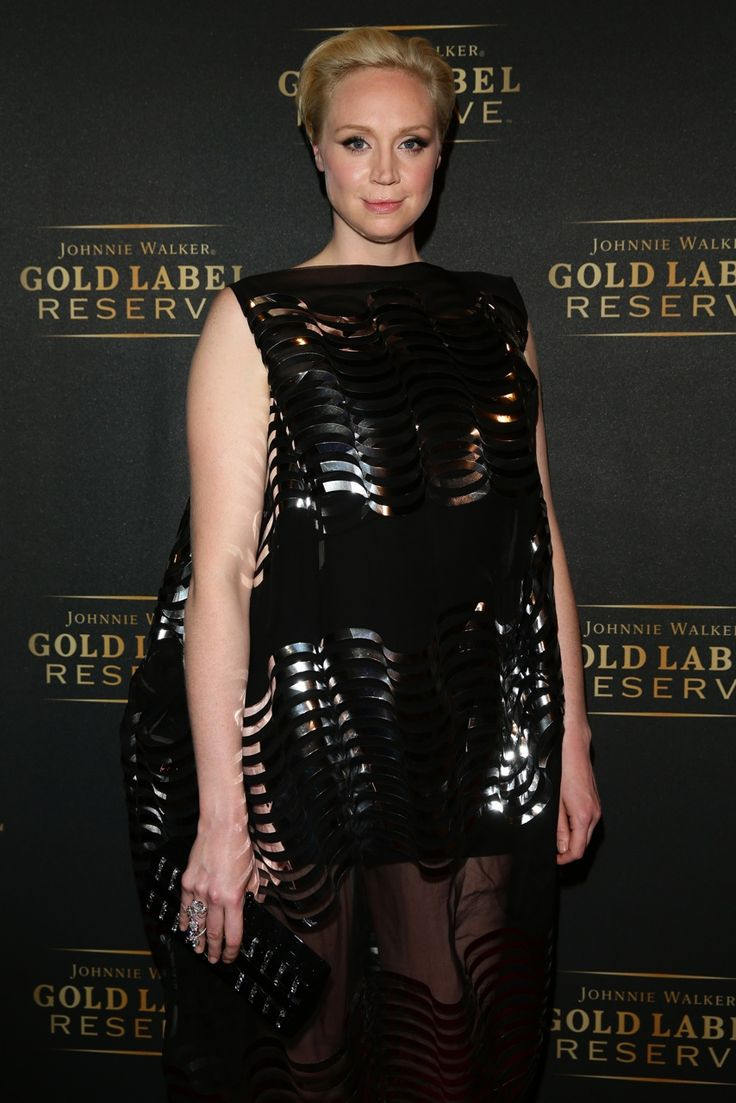 British Actress Gwendoline Christie wore a black and silver dress from our SS14 Gold Label collection to the Vanity Fair party in Venice over the weekend.