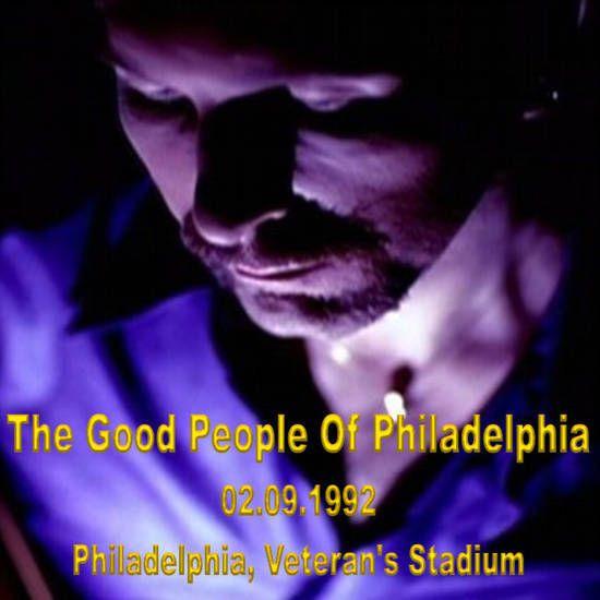 U2 -Zoo Tv Tour -Philadelphie  USA 02/09/1992