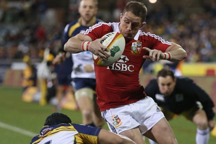Shane Williams British and Irish Lions facing ACT Brumbies