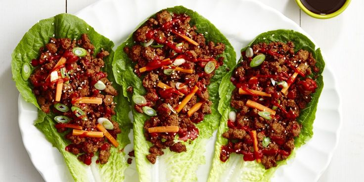 If you're looking for a healthy recipe that's not salad, these ground pork wraps are the answer.