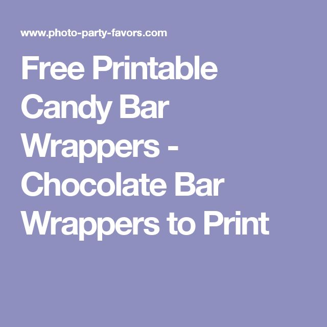 17 Best Ideas About Candy Bar Labels On Pinterest Bling