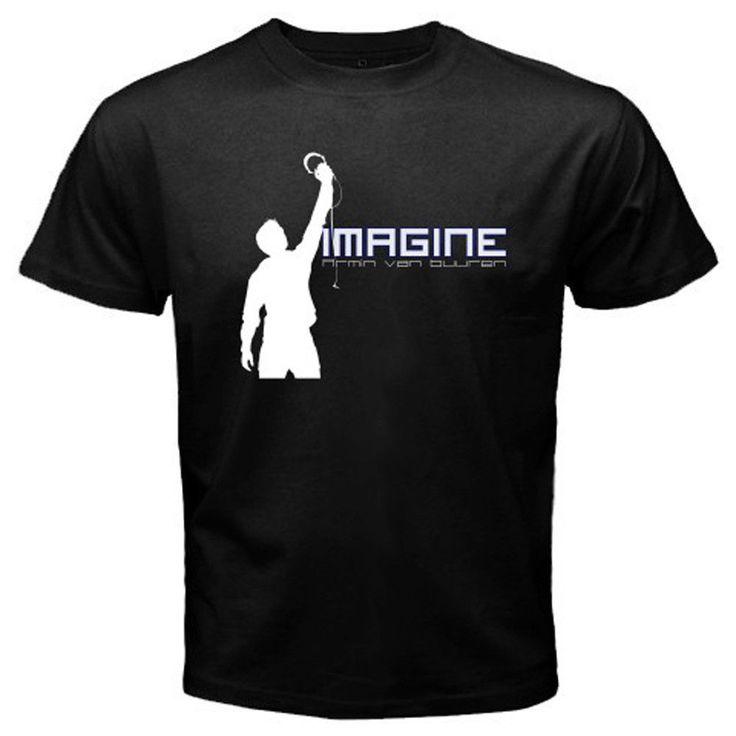 Fashion Unique Classic Cotton Men New Armin Van Buuren *Imagine Electro House Music Men'S T Shirt #Affiliate