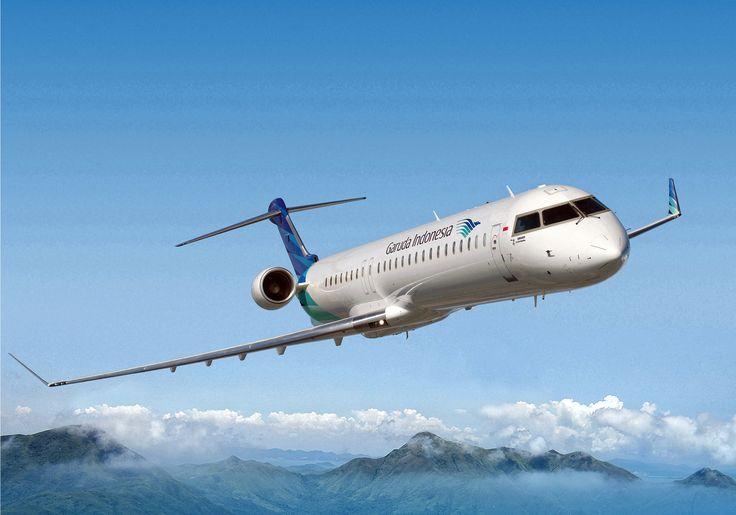 Garuda Indonesia. Bombardier CRJ1000 NextGen