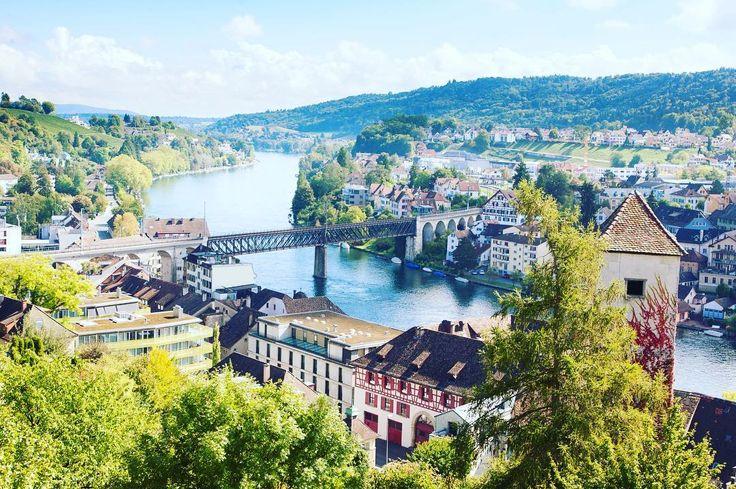 Shaffhausen city in its full beauty as seen from the Munot Fortress over the Rhine River . . . #thebestofswitzerland #shaffhausen #rhineriver #autumninswitzerland #travellife #igerseurope #travelcommunity #timeoutsociety #teamwanderlust #welivetoexplore #wearetravelgirls #girlslovetravel #girlsborntotravel #femmetravel #thetravelwomen #wonderful_places #beautifuldestinations #travel_drops #exceptional_pictures #speechlessplaces