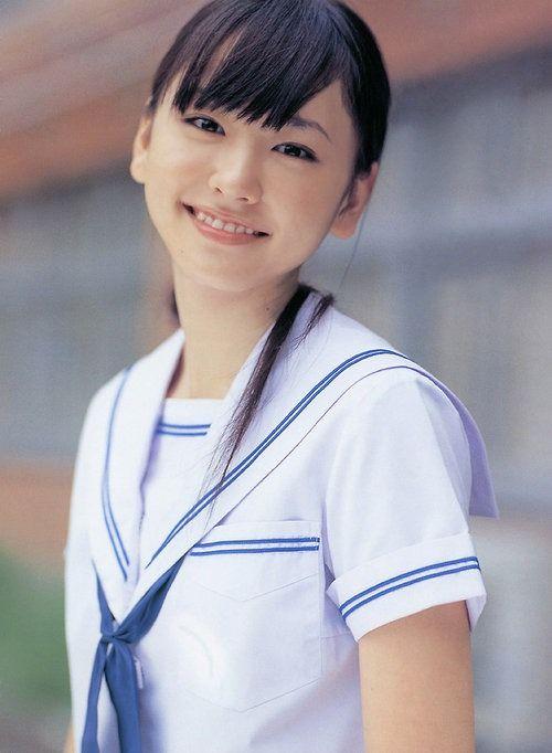 yui aragaki | uniform