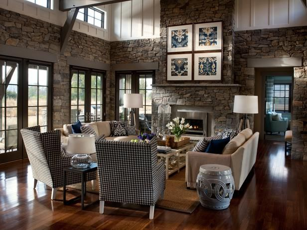 Am obsessed with the stone walls!