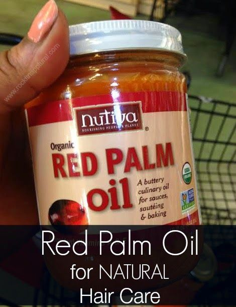 Red Palm Oil for your Natural Hair Care